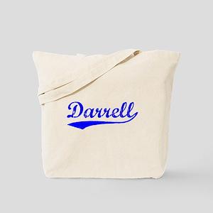 Vintage Darrell (Blue) Tote Bag