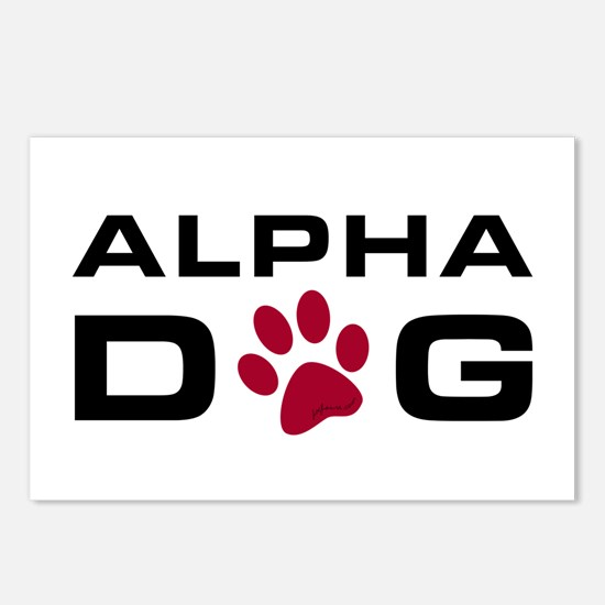 Alpha Dog Postcards (Package of 8)