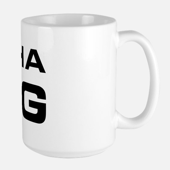 Alpha Dog Large Mug