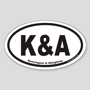 K&A Kensington & Allegheny Euro Oval Stick