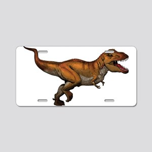 Dino Aluminum License Plate