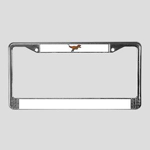 Dino License Plate Frame