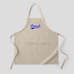 Vintage Daryl (Blue) BBQ Apron