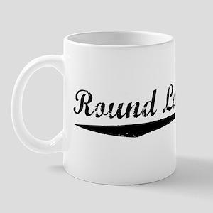 Vintage Round Lake.. (Black) Mug