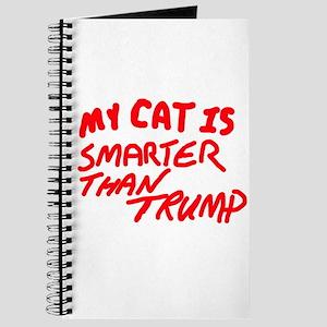 MY CAT IS SMARTER THAN TRUMP Journal