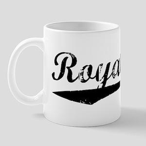 Vintage Royal Oak (Black) Mug