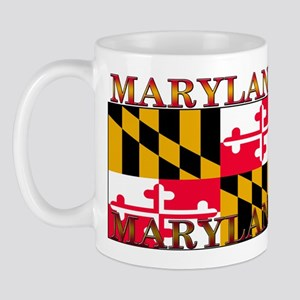 Maryland State Flag Mug