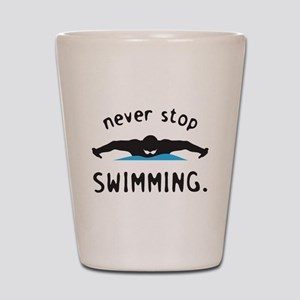 Swimming Shot Glass