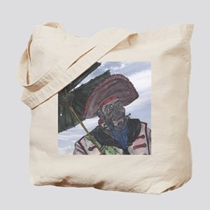 Old Captain & Parasol Tote Bag