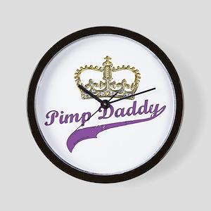 Pimp Daddy Wall Clock