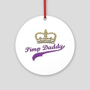 Pimp Daddy Ornament (Round)