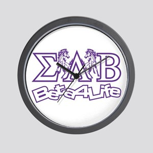 Wall Clock Sigma Lambda Beta