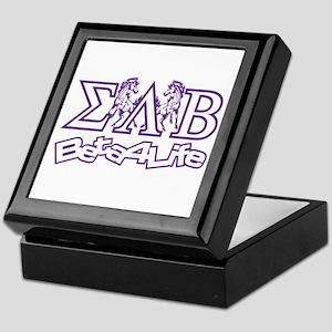 Keepsake Box Sigma Lambda Beta