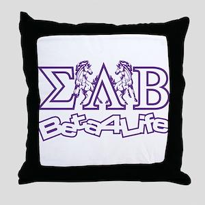 Throw Pillow Sigma Lambda Beta
