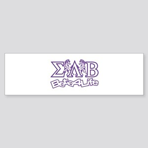 Bumper Sticker Sigma Lambda Beta