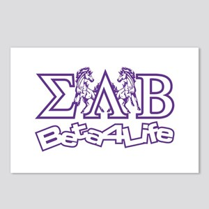 Postcards (Package of 8) Sigma Lambda Beta
