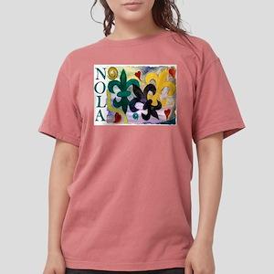 NOLA Mardi Gras Fleur de lis T-Shirt