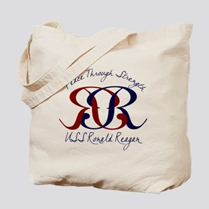 CVN 76 2 Sided Tote Bag