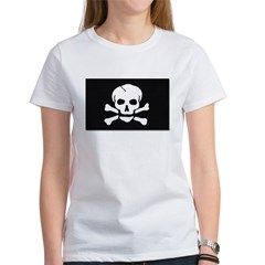 Jolly Roger Pirate Flag Women's T-Shirt