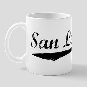 Vintage San Leandro (Black) Mug