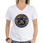 USS CROMWELL Women's V-Neck T-Shirt