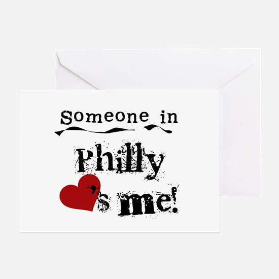 Philly Loves Me Greeting Card