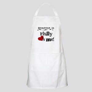 Philly Loves Me BBQ Apron