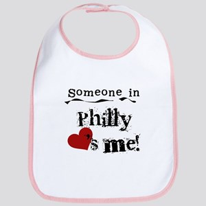 Philly Loves Me Bib