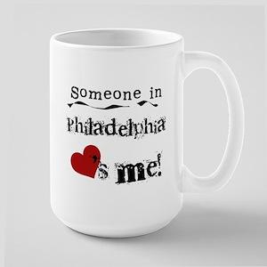 Philadelphia Loves Me Large Mug