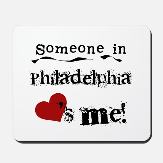Philadelphia Loves Me Mousepad
