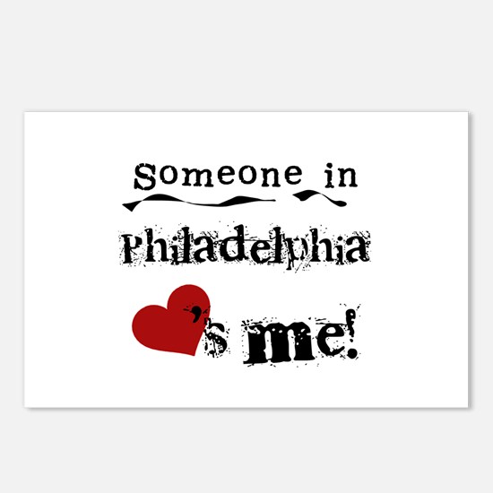 Philadelphia Loves Me Postcards (Package of 8)