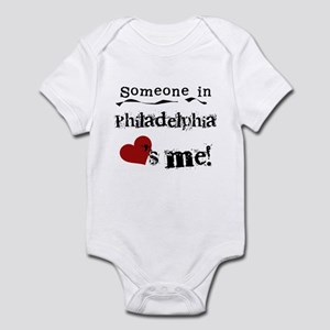 Philadelphia Loves Me Infant Bodysuit