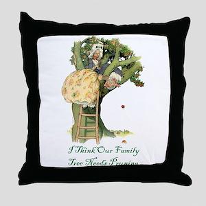 OUR FAMILY TREE Throw Pillow
