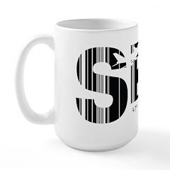 Seattle Washington SEA Air Wear Large Mug
