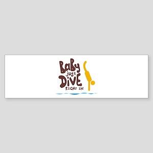 Swimming Sticker (Bumper)