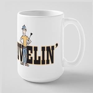 No Snivelin' Large Mug
