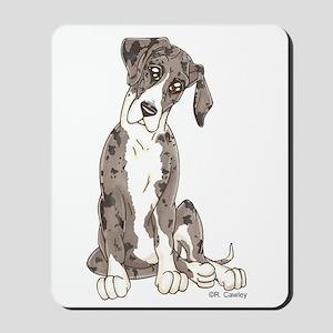 NMtMrl Pup Tilt Mousepad