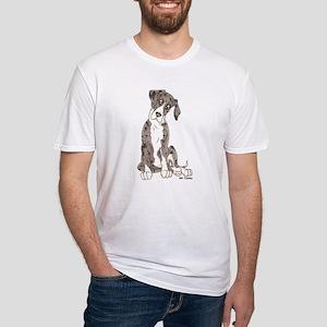 NMtMrl Pup Tilt Fitted T-Shirt