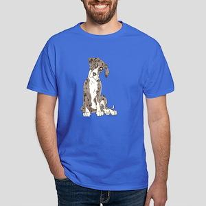 NMtMrl Pup Tilt Dark T-Shirt