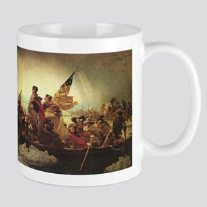 washing crossing the delaware mug
