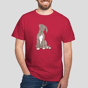 NBluW Pup Tilt Dark T-Shirt
