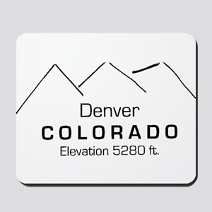Denver Colorado Mousepad