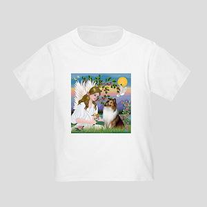 Angel (#2) & Sheltie Toddler T-Shirt