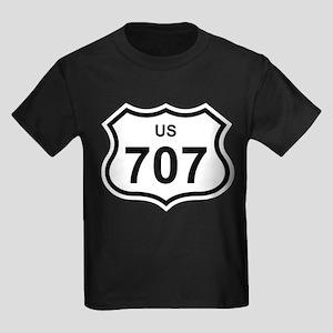 US 707 Kids Dark T-Shirt