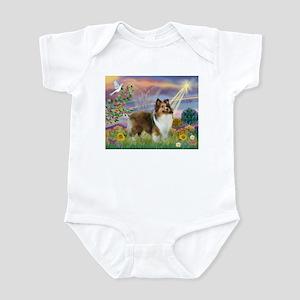 Cloud Angel & Sheltie Infant Bodysuit