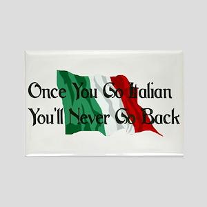 CUSTOM For Italian Stud Guy Rectangle Magnet