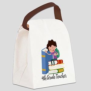 Teacher appreciation Teacher Gift Canvas Lunch Bag