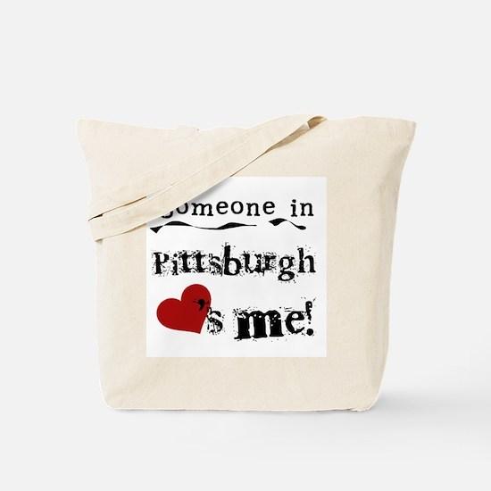 Pittsburgh Loves Me Tote Bag