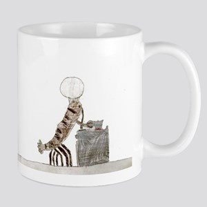 Cougar and Lobster Cooking Mugs