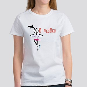 i spin, i jump Ice Skating Women's T-Shirt